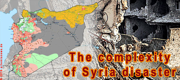 The complexity of Syria disaster
